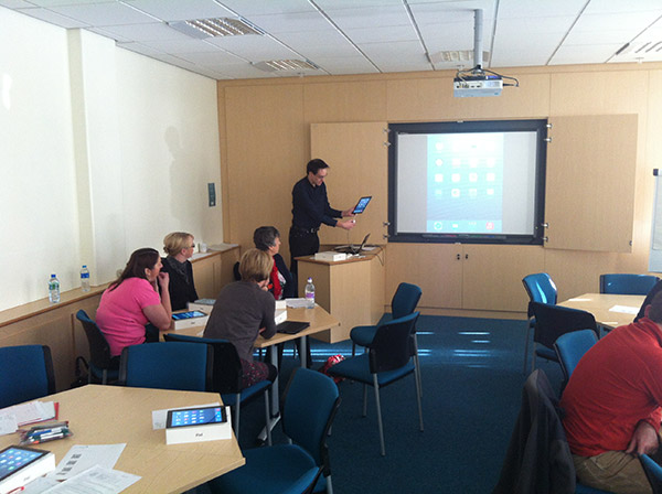 iPad Training, LearningSkills Gateshead