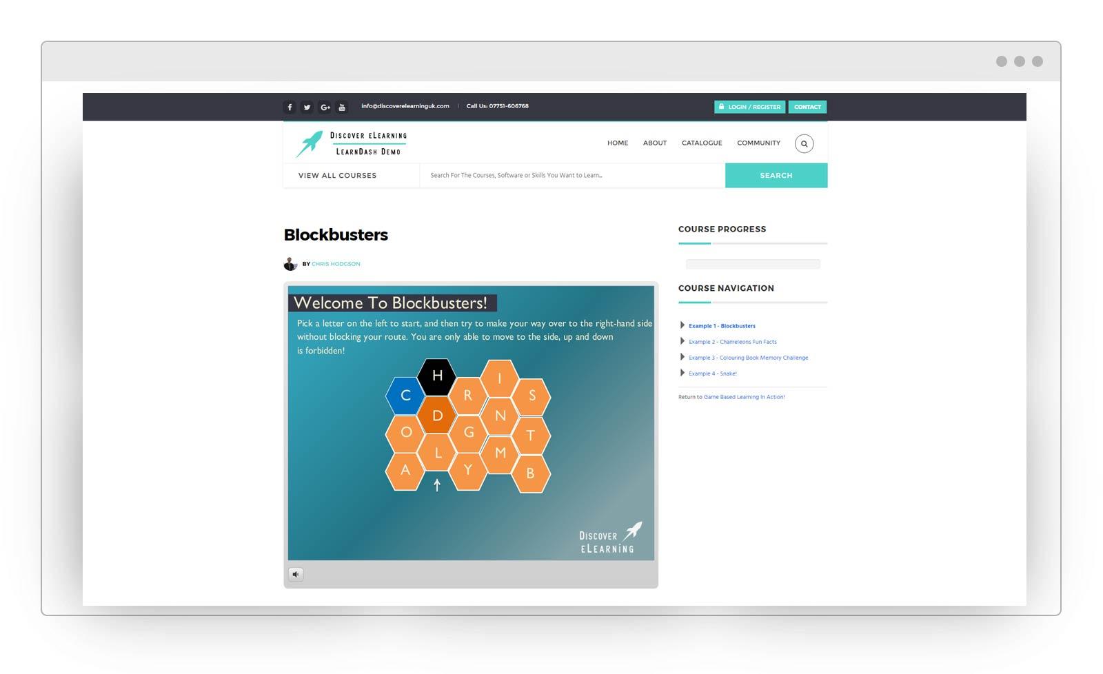 LearnDash Screen