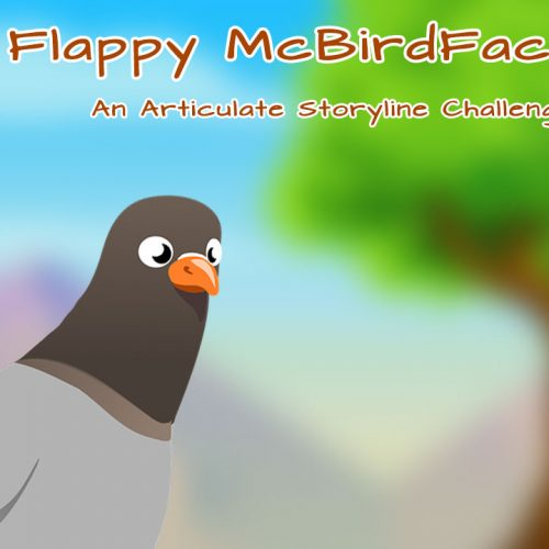 Flappy McBirdface Articulate Storyline